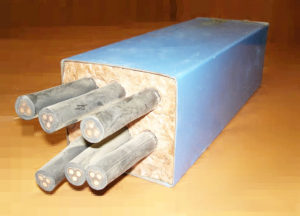 Мастика герметизирующая для кабельных проходок МГКП